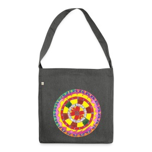 Creativity Heart organic cotton bag - Borsa in materiale riciclato