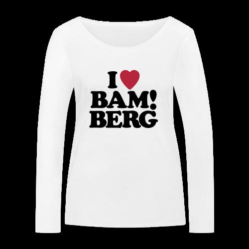 BAM!berg - Damen BIO Langarmshirt - 100% Baumwolle - #BAM!berg - Frauen Bio-Langarmshirt von Stanley & Stella