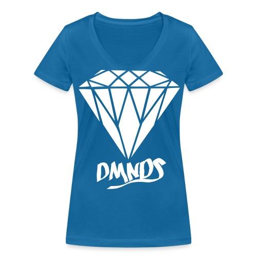 """DMNDS """"Friendship"""" - Lady V-neck - Frauen Bio-T-Shirt mit V-Ausschnitt von Stanley & Stella"""