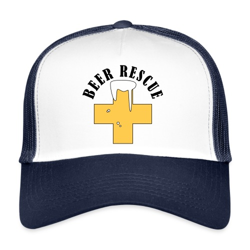 cap beer rescue - Trucker Cap