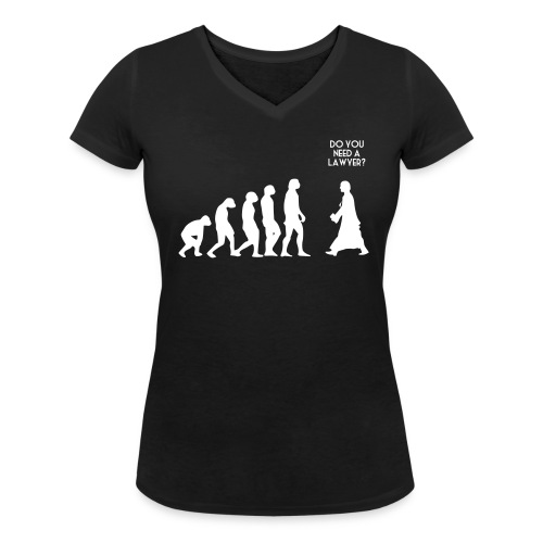 L'évolution - T-shirt bio col V Stanley & Stella Femme