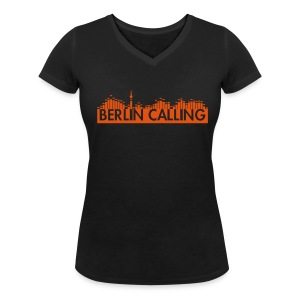 "Frauen Bio-T-Shirt mit V-Ausschnitt von Stanley & Stella - Official Product of the ""Berlin Calling"" Motive from Paul Kalkbrenner."
