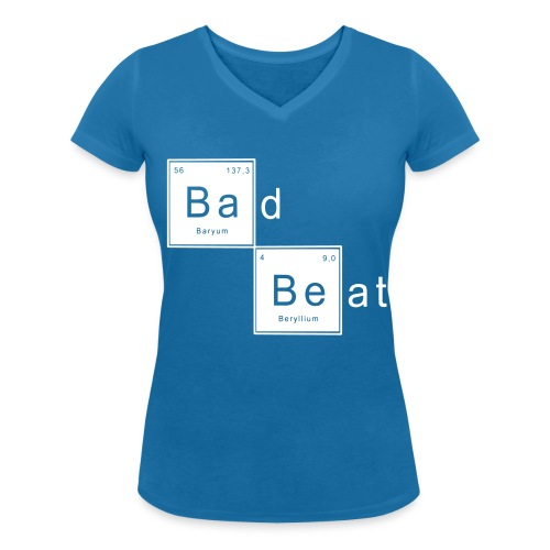 Bad Beat - T-shirt bio col V Stanley & Stella Femme