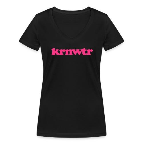 V-Hals dames shirt KRNWTR - Vrouwen bio T-shirt met V-hals van Stanley & Stella