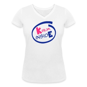 Kaur iNside - Women's Organic V-Neck T-Shirt by Stanley & Stella