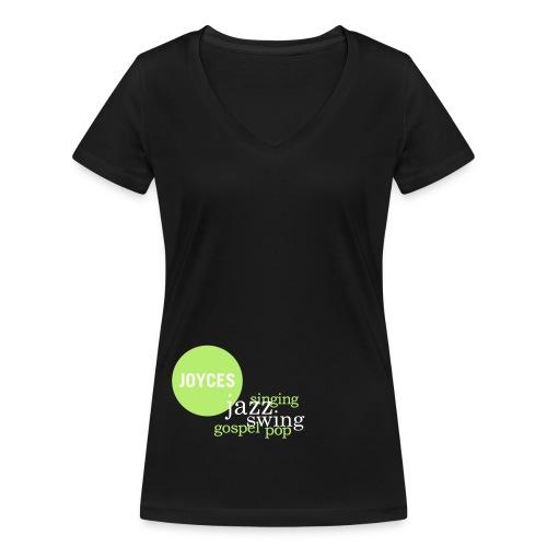 JOYCES Fan-T-Shirt Girl (V-neck) - Frauen Bio-T-Shirt mit V-Ausschnitt von Stanley & Stella