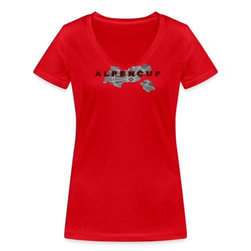 Ladyshirt - Frauen Bio-T-Shirt mit V-Ausschnitt von Stanley & Stella