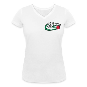 95ers Fanshirt Schreckenstein - Frauen Bio-T-Shirt mit V-Ausschnitt von Stanley & Stella
