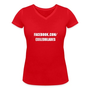 Exiled Blades (women) - Women's Organic V-Neck T-Shirt by Stanley & Stella