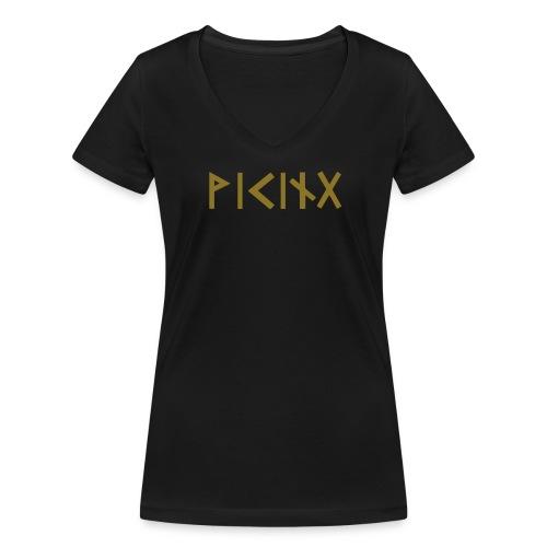 Viking - Frauen Bio-T-Shirt mit V-Ausschnitt von Stanley & Stella