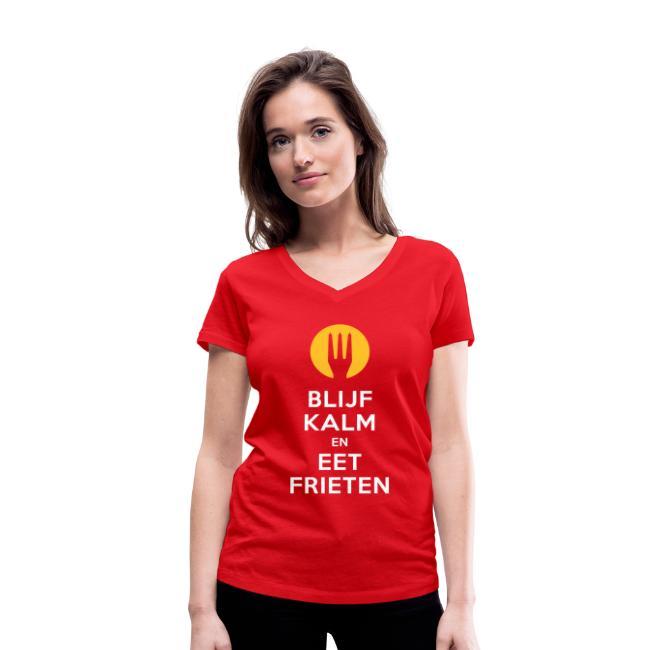 keep calm en eet frieten- Belgium - Belgie