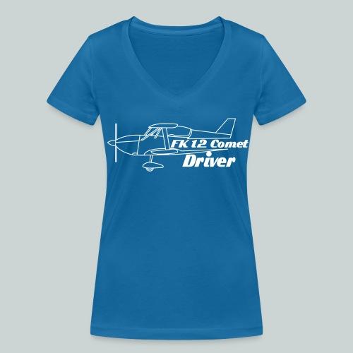 T-shirt femme FK 12 comet driver - T-shirt bio col V Stanley & Stella Femme