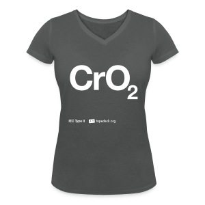 IEC Type II - CrO2 - Women's Organic V-Neck T-Shirt by Stanley & Stella