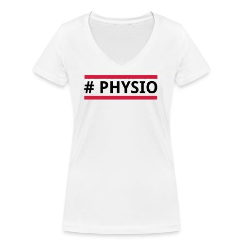 #physio - Frauen Bio-T-Shirt mit V-Ausschnitt von Stanley & Stella