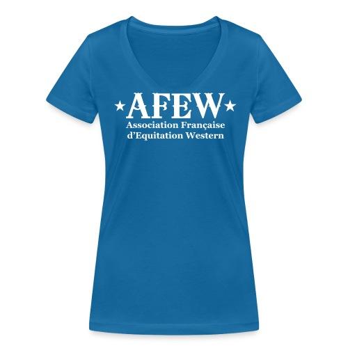 Tshirt col V femme - T-shirt bio col V Stanley & Stella Femme