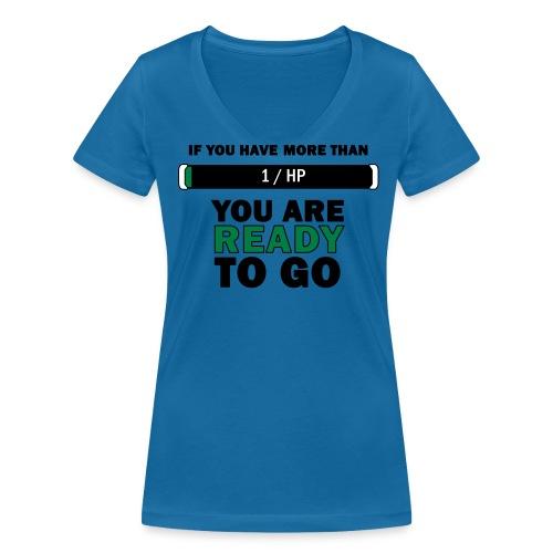 More than 1HP - Women's Organic V-Neck T-Shirt by Stanley & Stella