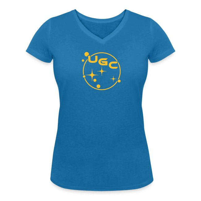 UGC Planet Logo mit Backprint