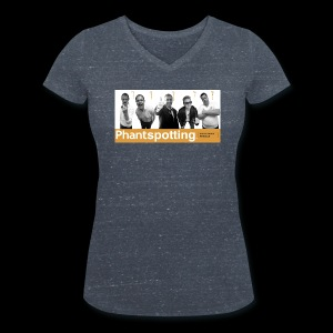 Phantspotting Ladies Tee - Women's Organic V-Neck T-Shirt by Stanley & Stella