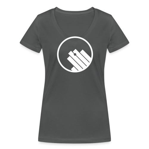 Women Logo Only - Frauen Bio-T-Shirt mit V-Ausschnitt von Stanley & Stella