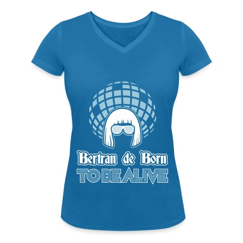 Chamison V Bertran de Born 2be Alive - T-shirt bio col V Stanley & Stella Femme