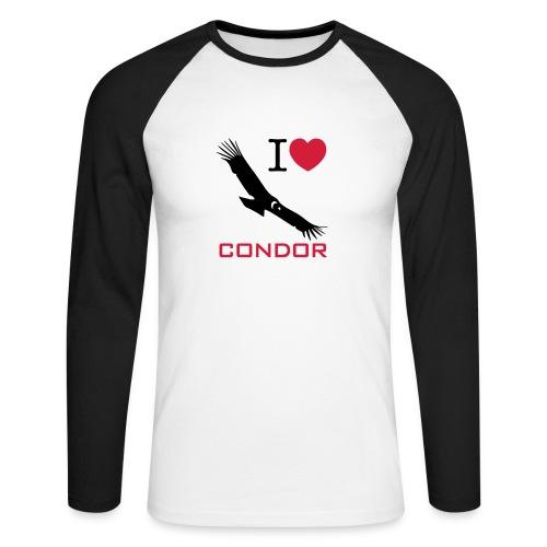 Baseball-shirt manches longues Homme - Men's Long Sleeve Baseball T-Shirt