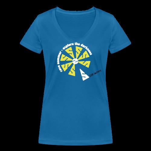 cave summer - Frauenshirt - Frauen Bio-T-Shirt mit V-Ausschnitt von Stanley & Stella