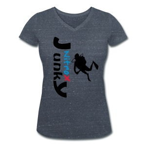 Nitrox Junky - Frauen Bio-T-Shirt mit V-Ausschnitt von Stanley & Stella