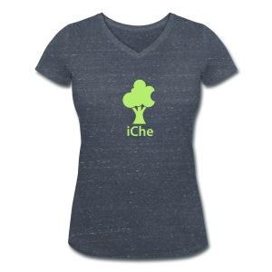 Eiche - preiswert Lady-Style - Frauen Bio-T-Shirt mit V-Ausschnitt von Stanley & Stella