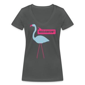 """T-shirt col en V pour fille """"Meilie"""" - T-shirt bio col V Stanley & Stella Femme"""