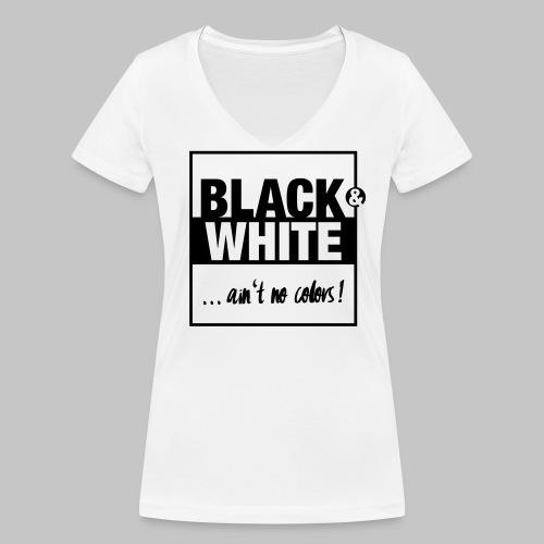 Ain't no color! - Frauen Bio-T-Shirt mit V-Ausschnitt von Stanley & Stella