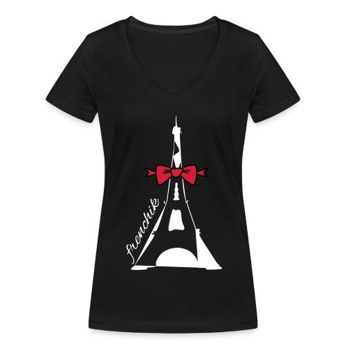 TSH 506 - T-shirt bio col V Stanley & Stella Femme