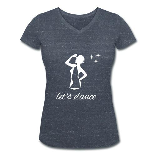 TSH 505 - T-shirt bio col V Stanley & Stella Femme