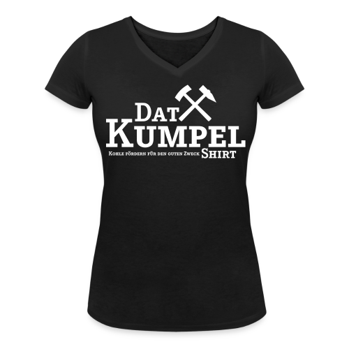 Dat Kumpel-Shirt V-Ausschnitt Damen - Frauen Bio-T-Shirt mit V-Ausschnitt von Stanley & Stella