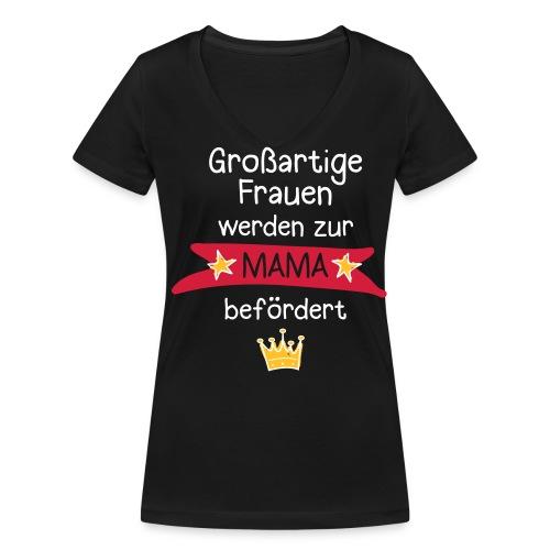 Großartige Frauen 03 T-Shirts - Frauen Bio-T-Shirt mit V-Ausschnitt von Stanley & Stella