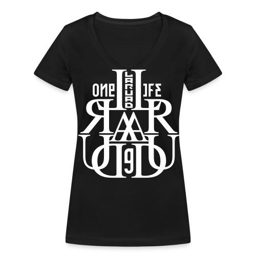 17 - Women's Organic V-Neck T-Shirt by Stanley & Stella