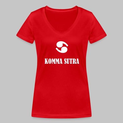 Komma Sutra - Frauen Bio-T-Shirt mit V-Ausschnitt von Stanley & Stella