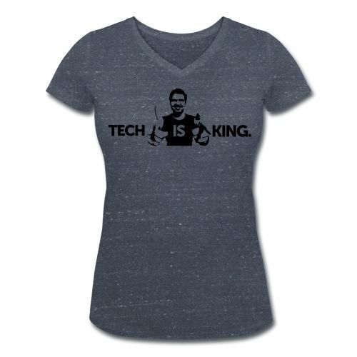 Women TIK2 V-Neck - Women's Organic V-Neck T-Shirt by Stanley & Stella