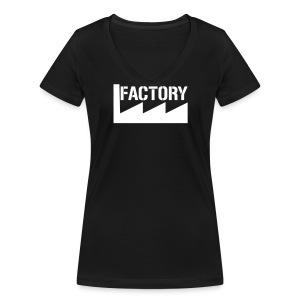 Factory t-shirt vrouw - Vrouwen bio T-shirt met V-hals van Stanley & Stella