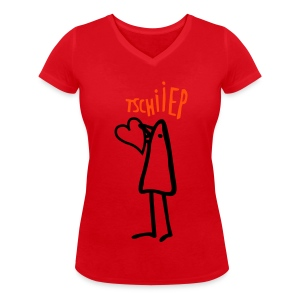 heartpiep - Frauen Bio-T-Shirt mit V-Ausschnitt von Stanley & Stella