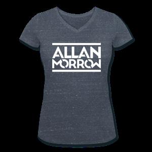 Allan Morrow / Allan Morrow  - Women's V-Neck T-Shirt - Women's Organic V-Neck T-Shirt by Stanley & Stella