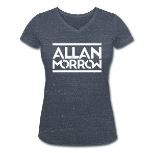 Allan Morrow / Allan Morrow  - Women's V-Neck T-Shirt - Women's Organic V-Neck T-Shirt by Stanley & Stella