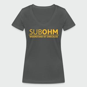 SubOhm Widerstand... - Frauen Bio-T-Shirt mit V-Ausschnitt von Stanley & Stella