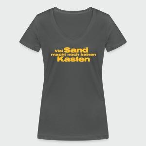 Viel Sand... - Frauen Bio-T-Shirt mit V-Ausschnitt von Stanley & Stella