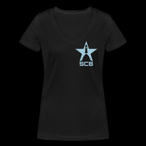 SCB - T-Shirt Women - Frauen Bio-T-Shirt mit V-Ausschnitt von Stanley & Stella