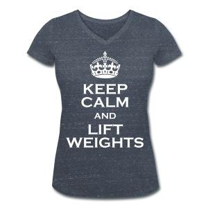 KCLW T-shirt med V-ringning Dam - Ekologisk T-shirt med V-ringning dam från Stanley & Stella