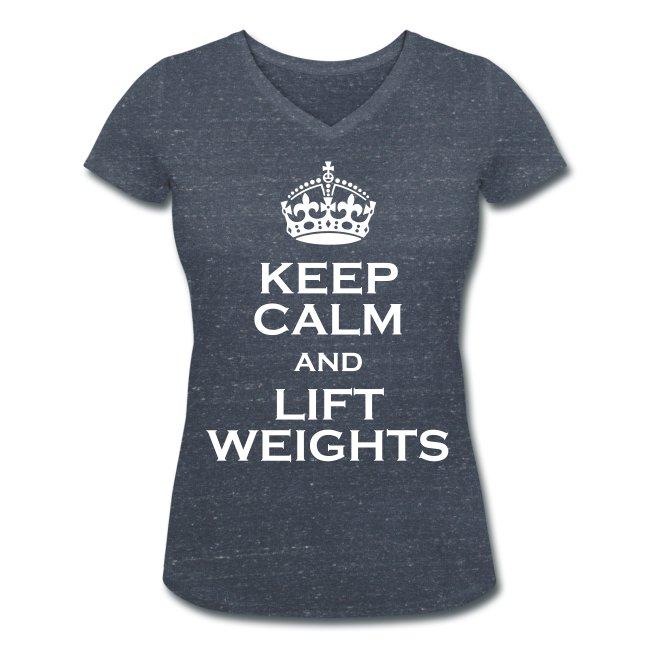 KCLW T-shirt med V-ringning Dam