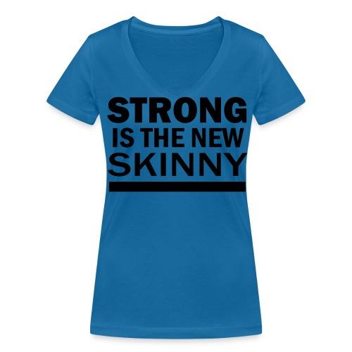 SITNS T-shirt med V-ringning Dam - Ekologisk T-shirt med V-ringning dam från Stanley & Stella