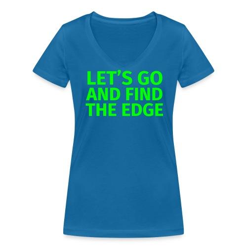 Find the Edge Damen - Frauen Bio-T-Shirt mit V-Ausschnitt von Stanley & Stella