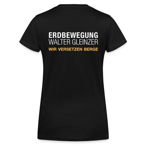 Damen V-Neck | Schwarz - Frauen Bio-T-Shirt mit V-Ausschnitt von Stanley & Stella