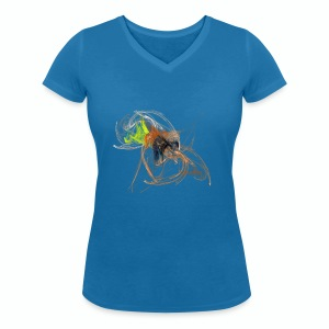 Charm Women's Collection - T-shirt ecologica da donna con scollo a V di Stanley & Stella
